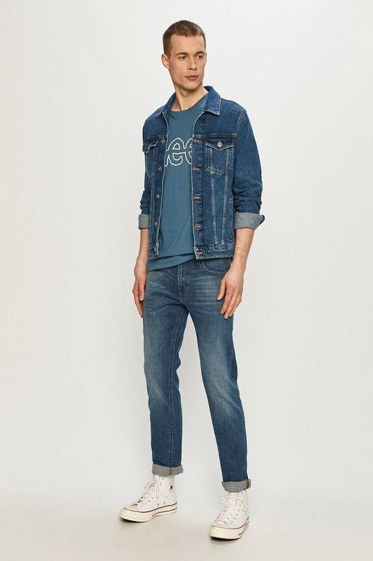 Lee - T-shirt niebieski