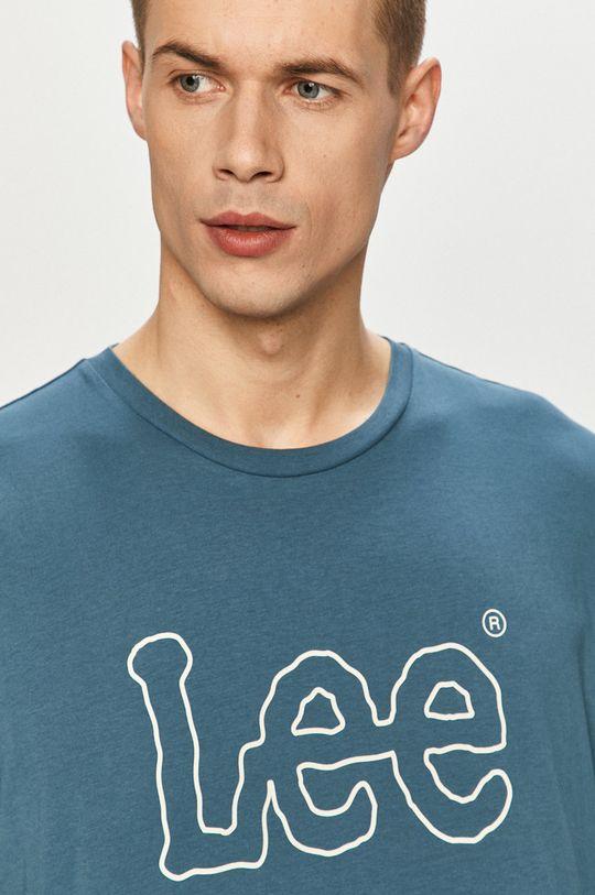 niebieski Lee - T-shirt