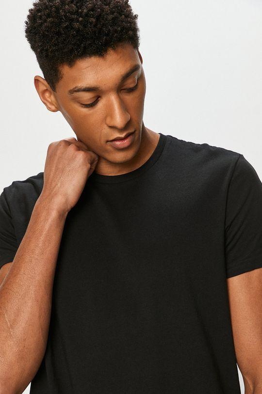 černá Lee - Tričko (2-pack) Pánský