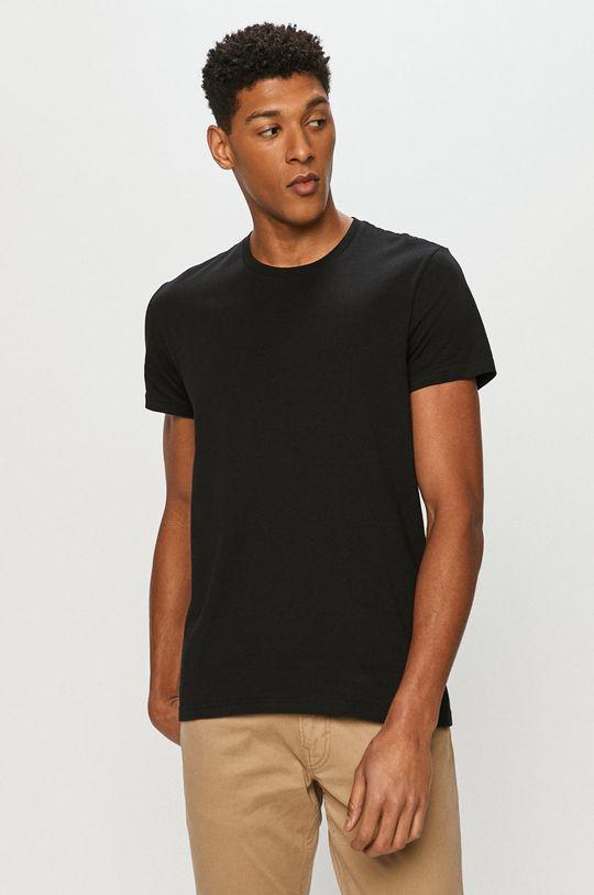 černá Lee - Tričko (2-pack)