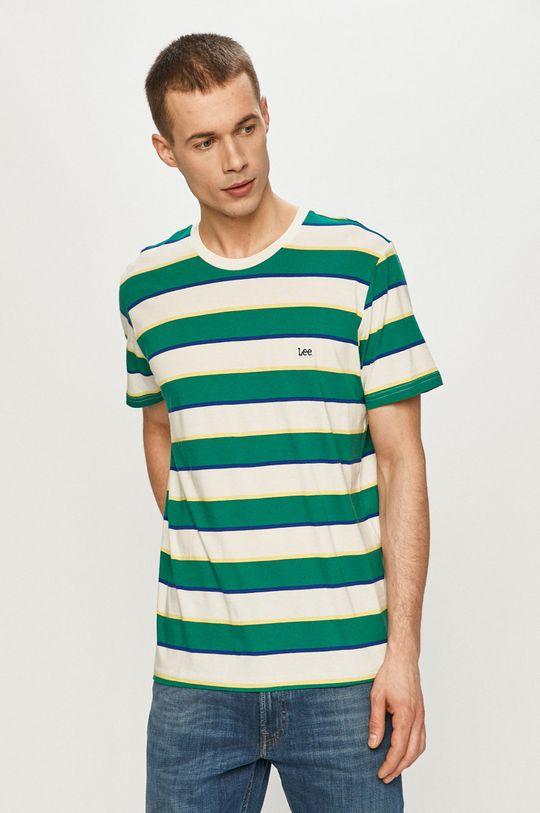 zelená Lee - Tričko Pánský