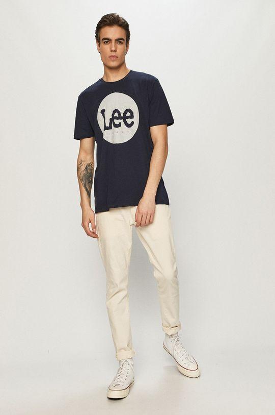 Lee - T-shirt granatowy