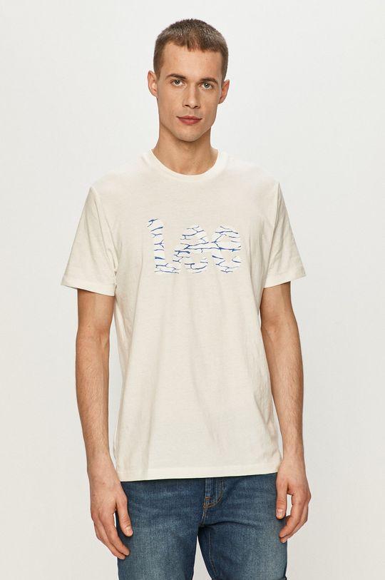 biały Lee - T-shirt