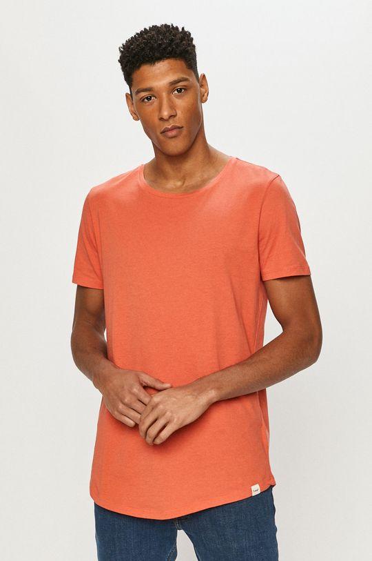 czerwony Lee - T-shirt Męski