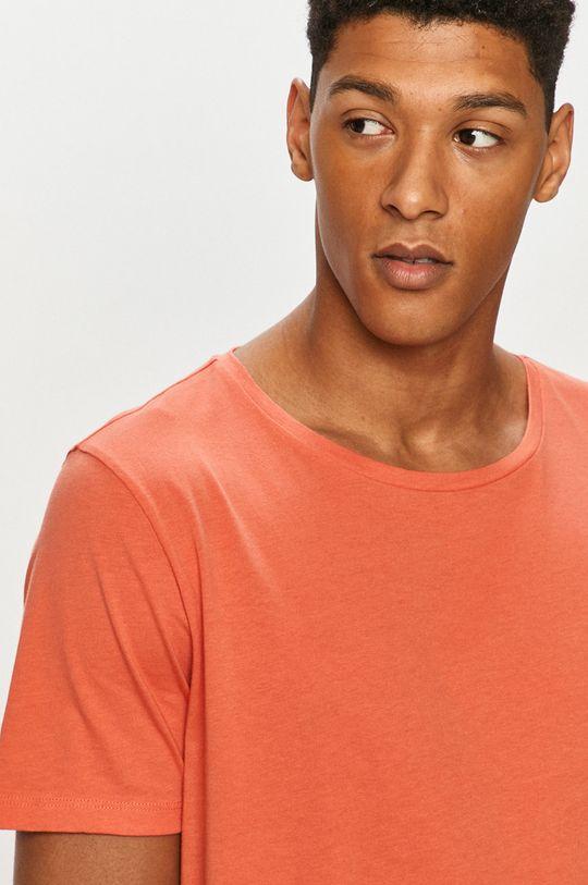 czerwony Lee - T-shirt