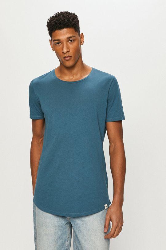 ocelová modrá Lee - Tričko Pánský