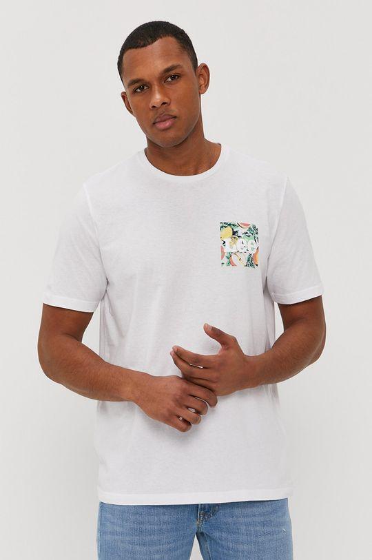 biały Lee - T-shirt Męski