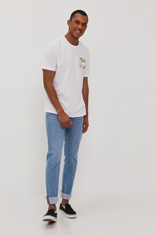 Lee - T-shirt biały