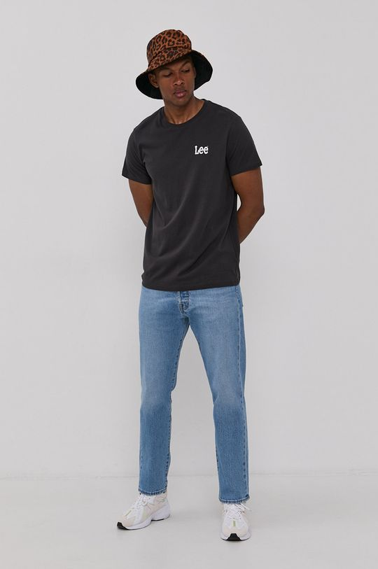 Lee - T-shirt (2-pack) 100 % Bawełna