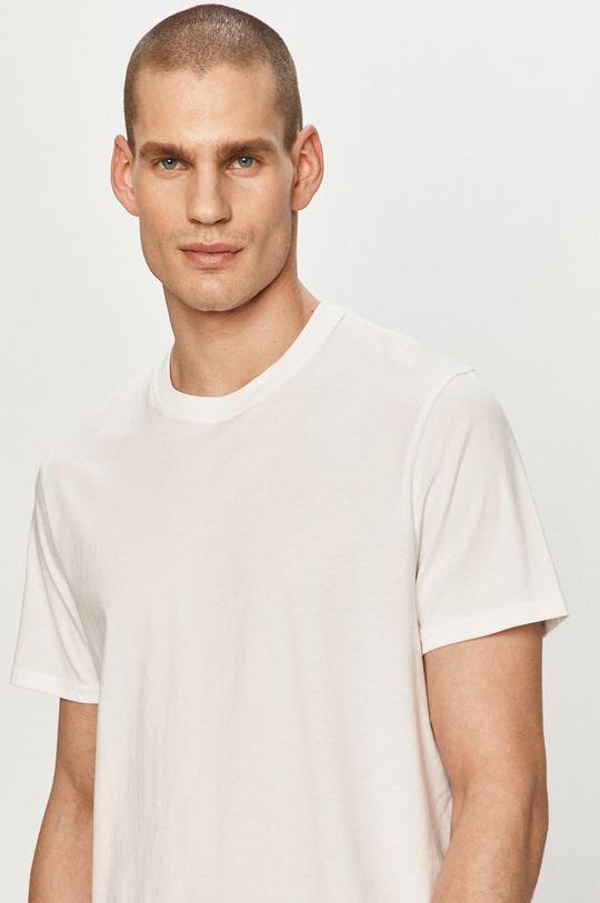 biały Wrangler - T-shirt (2-pack) Męski