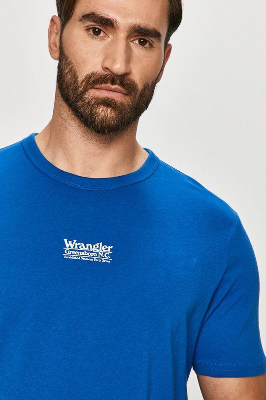 modrá Wrangler - Tričko
