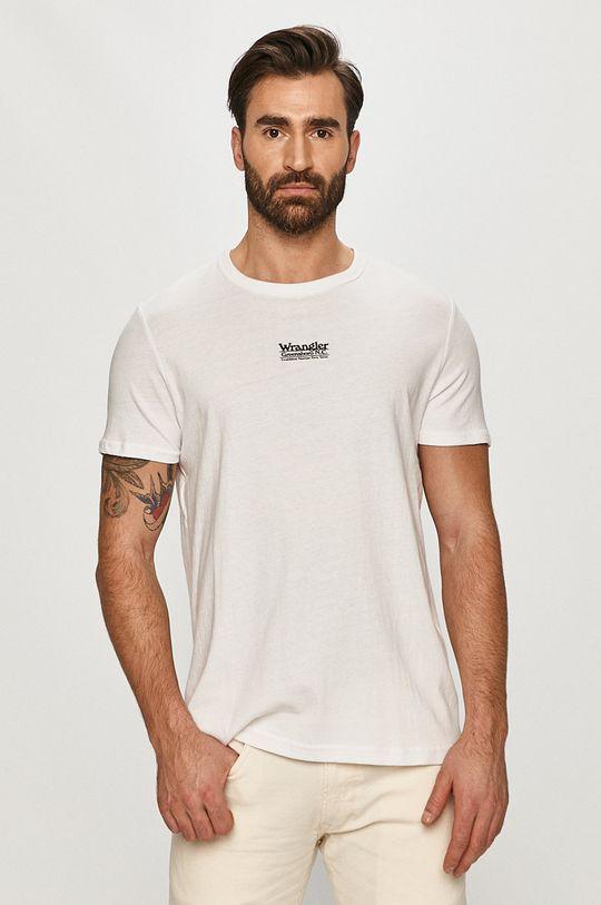 bílá Wrangler - Tričko Pánský