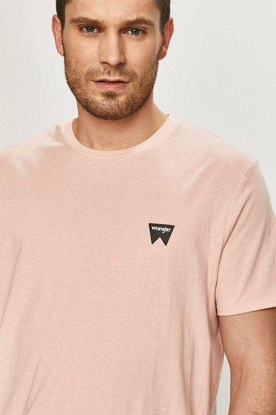 staroružová Wrangler - Tričko
