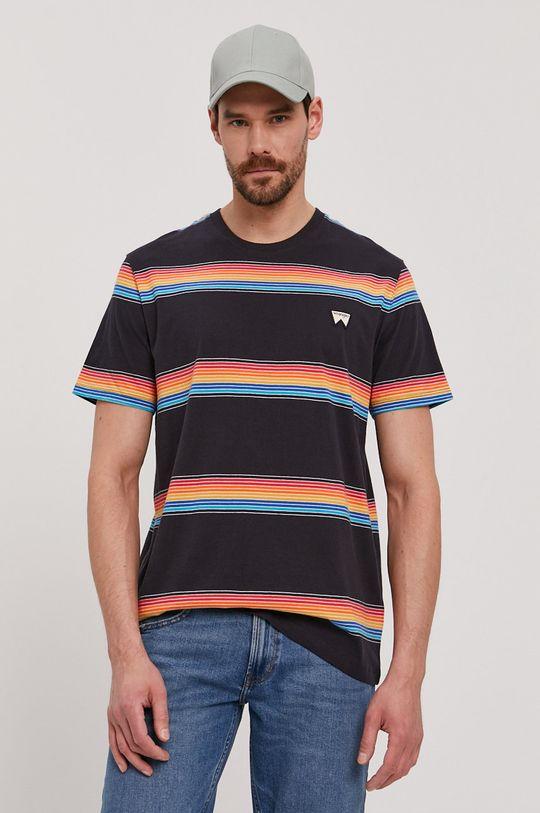 granatowy Wrangler - T-shirt