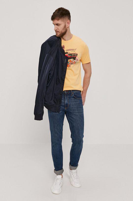 Wrangler - Tričko jasně oranžová