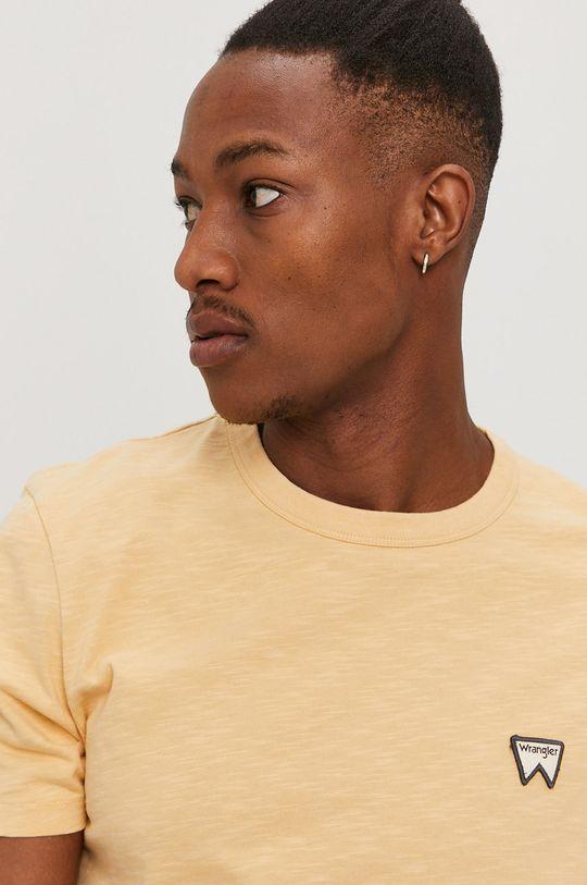 jasny pomarańczowy Wrangler - T-shirt