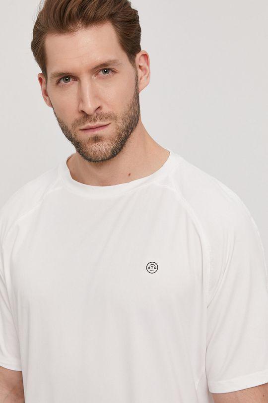 biały Wrangler - T-shirt ATG