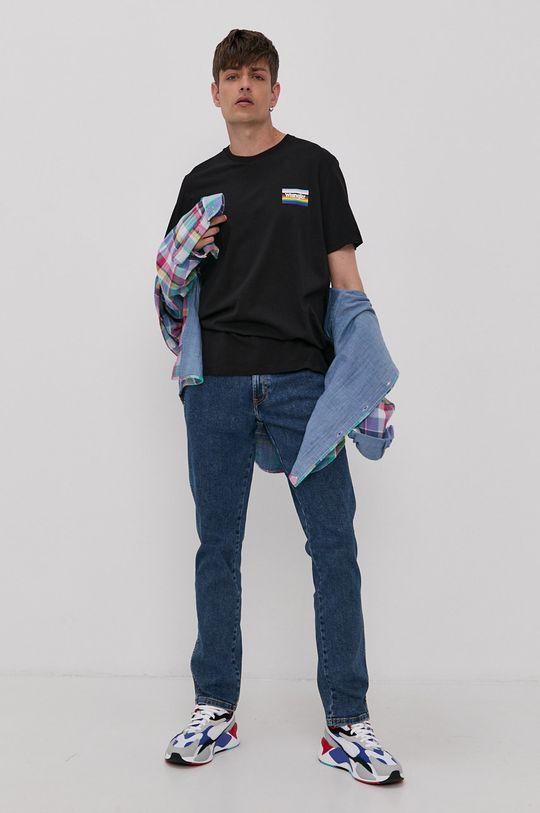 Wrangler - T-shirt PRIDE czarny