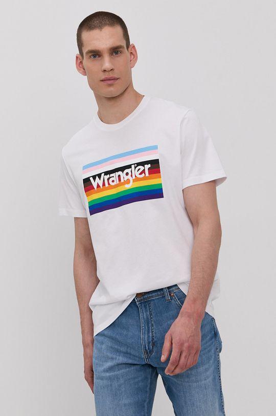 Wrangler - Tričko bílá