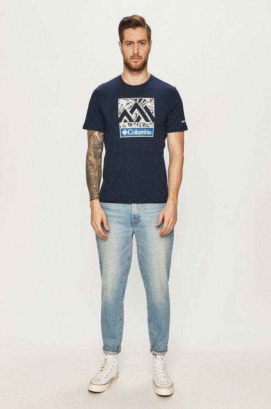 Columbia - T-shirt granatowy