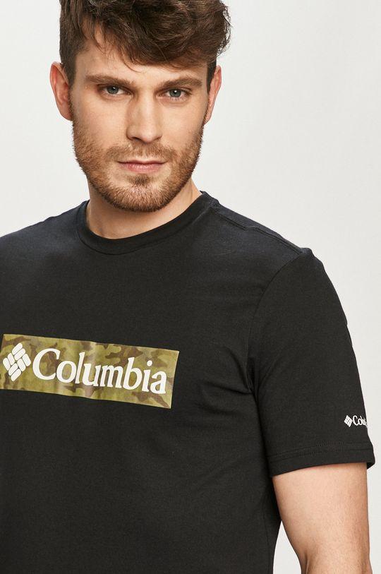 čierna Columbia - Tričko Pánsky