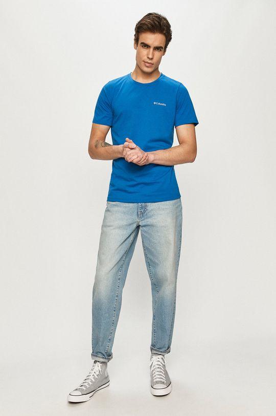 Columbia - T-shirt niebieski