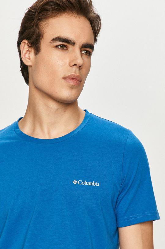 niebieski Columbia - T-shirt