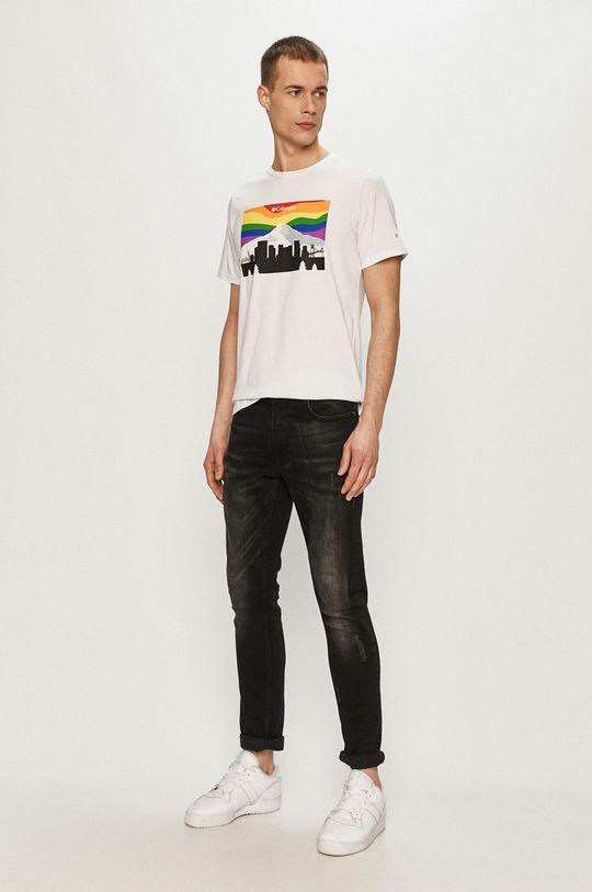 Columbia - T-shirt biały