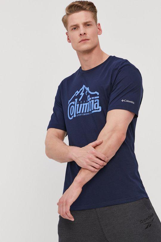 Columbia - Tričko tmavomodrá