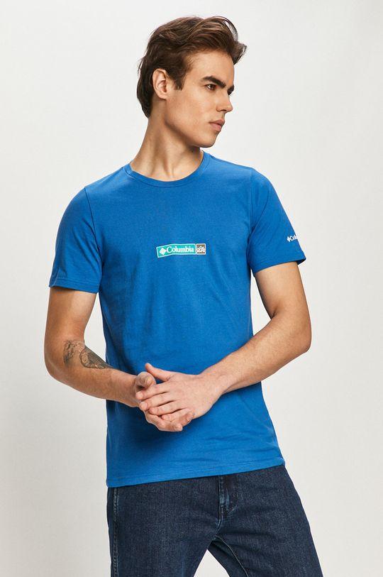 modrá Columbia - Tričko Pánský