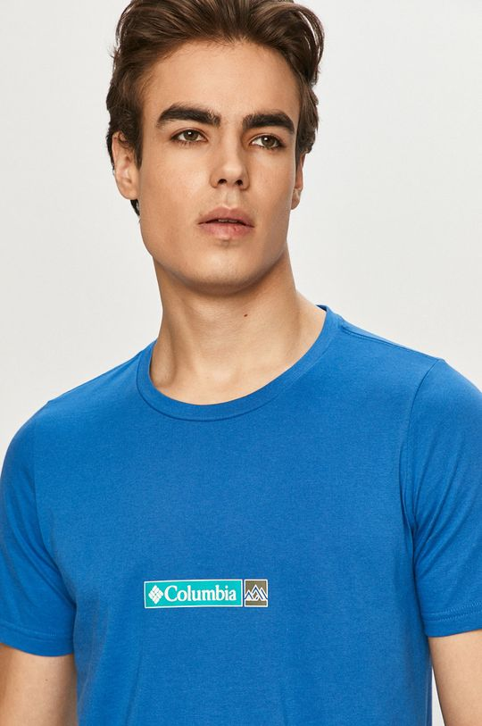 modrá Columbia - Tričko