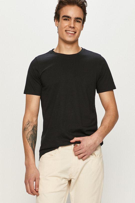 czarny Columbia - T-shirt Męski