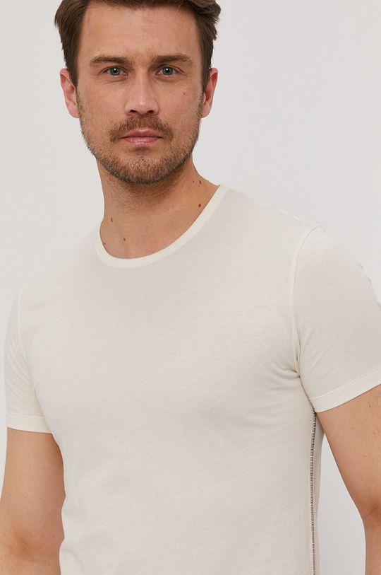 kremowy Paul Smith - T-shirt