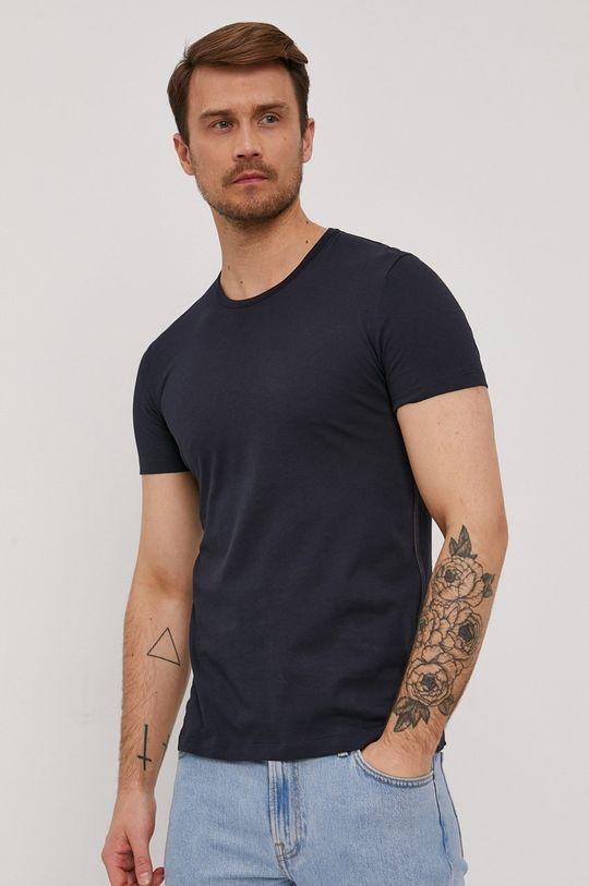 granatowy Paul Smith - T-shirt