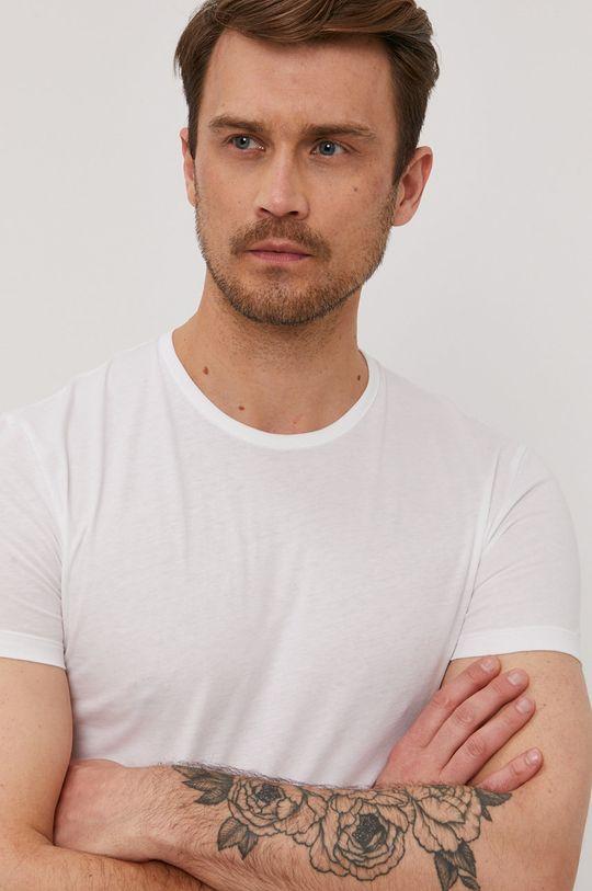 biały Paul Smith - T-shirt