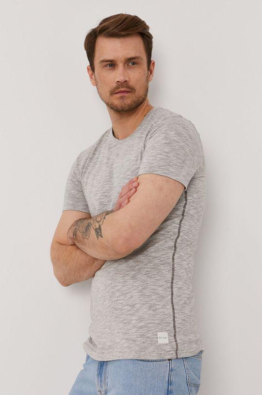 szary Paul Smith - T-shirt Męski