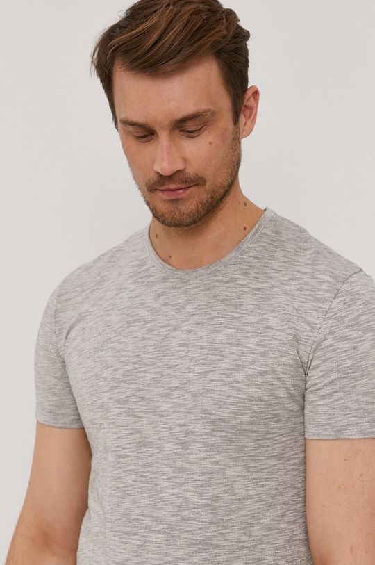 szary Paul Smith - T-shirt