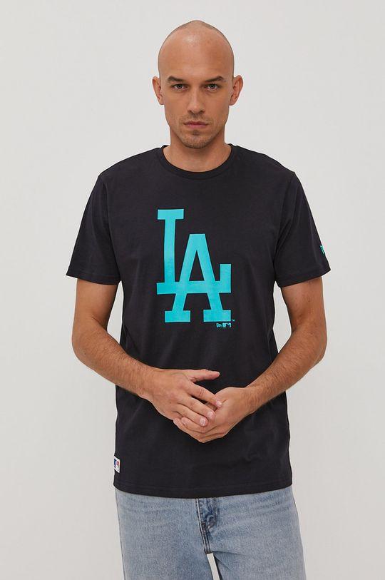 granatowy New Era - T-shirt