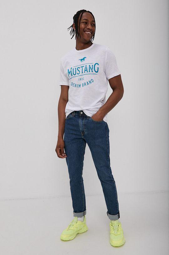 Mustang - Tričko bílá