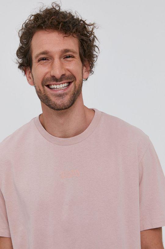 rózsaszín AllSaints - T-shirt