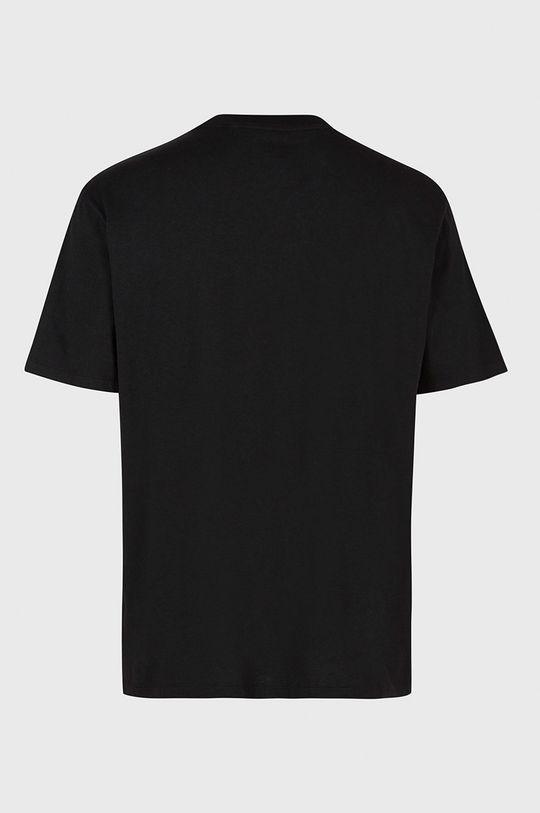 czarny AllSaints - T-shirt bawełniany