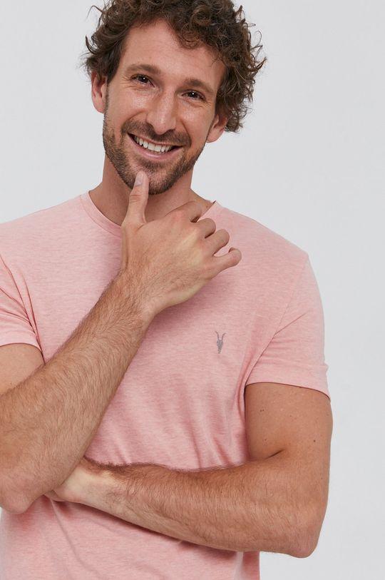 pasztell rózsaszín AllSaints - T-shirt