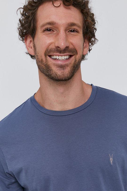 AllSaints - Tričko ocelová modrá