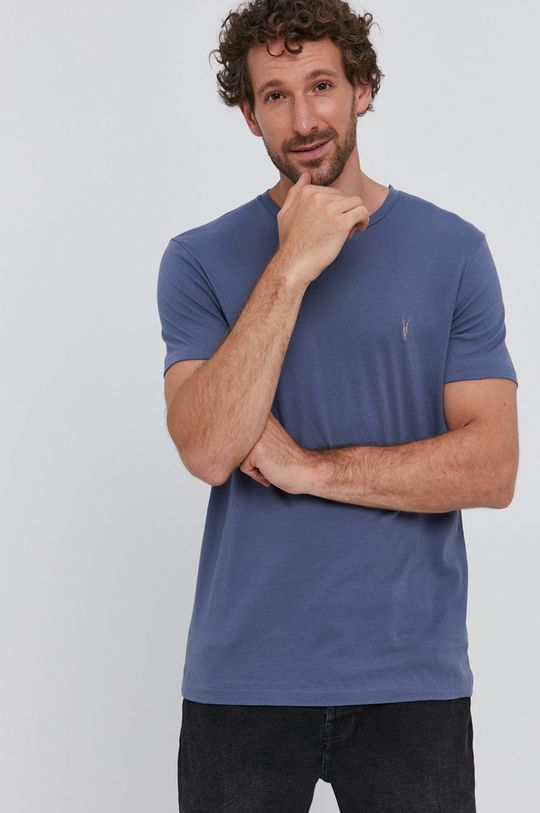 ocelová modrá AllSaints - Tričko
