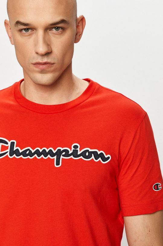 červená Champion - Tričko Pánský