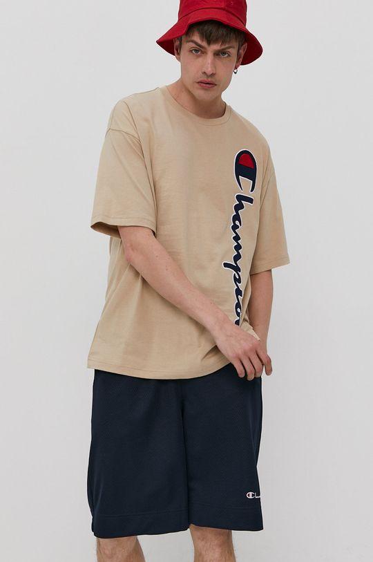 piaskowy Champion - T-shirt Męski