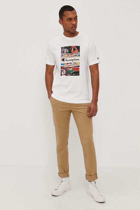 Champion - T-shirt biały