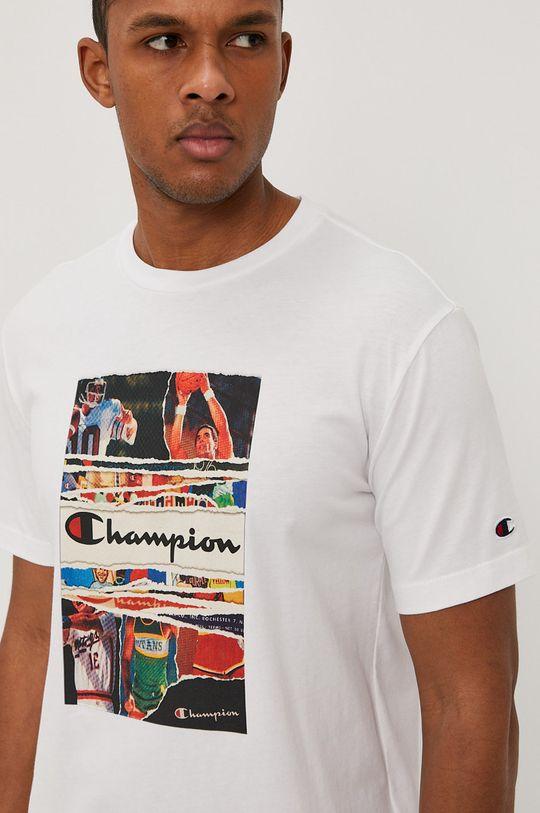 biały Champion - T-shirt