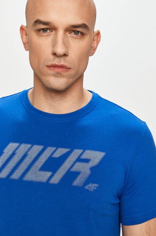 modrá 4F - Tričko Pánsky