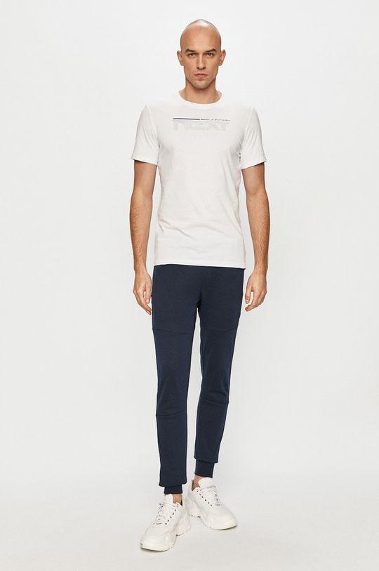 4F - T-shirt biały